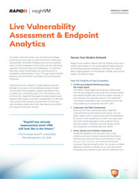 InsightVM Product Brief
